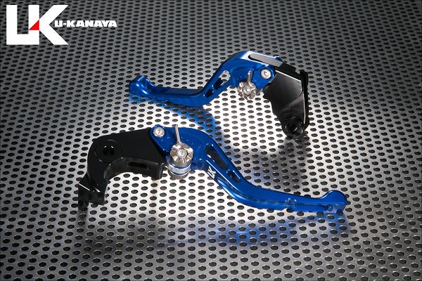 GPタイプ ショートアルミビレットレバーセット ブルー U-KANAYA Z900RS