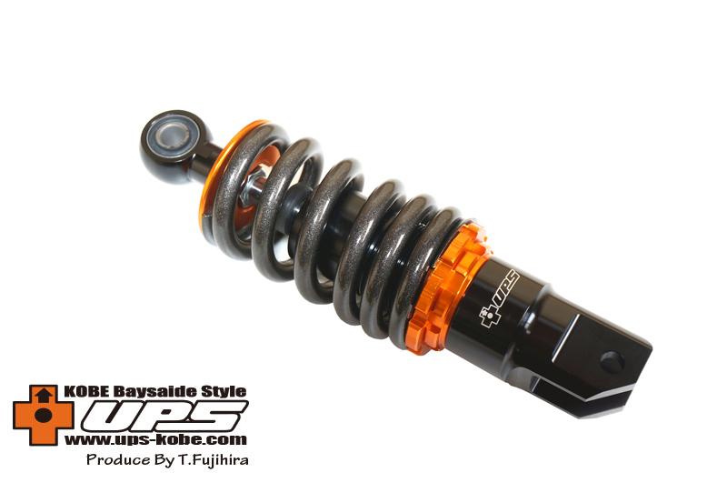 マルチショック ホンダ用オフセット ショートタイプ(オレンジ)205mm~215mm UPS(アップス)