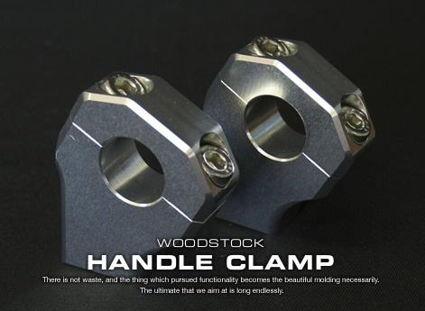ハンドルクランプ汎用 woodstock(ウッドストック)
