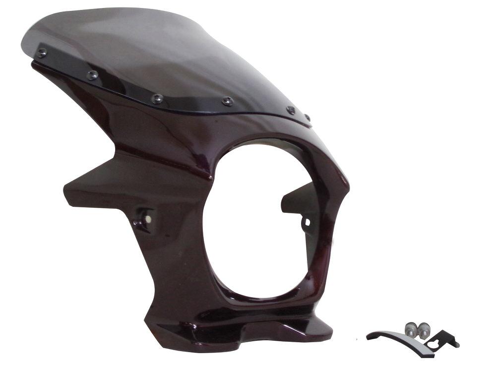 ビキニカウル キャンディートーンブラウン AEROスクリーン仕様 スモーク WORLD WALK(ワールドウォーク) Z900RS(18年)