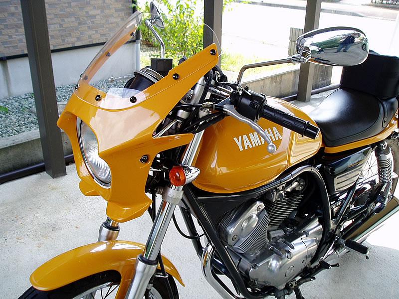 ルネッサ 汎用ビキニカウル DS-01 タイプエアロ クリアスクリーン(オレンジカクテル1)コード:0491 WORLD WALK(ワールドウォーク)