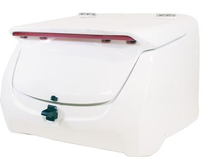 ジャイロキャノピー(GYRO CANOPY) リアボックス LEDハイマウント付き FRP白ゲル WORLD WALK(ワールドウォーク)