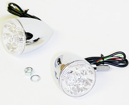 LEDウインカー hanabi シングルファンクション(ウインカー機能のみ) WORLD WALK(ワールドウォーク)