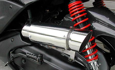 サイレンサー型 エアクリーナーキット ポッパータイプ ウイルズウィン(WirusWin) シグナスX(3型)SE44J(1YP)