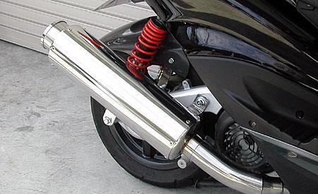 ビッグバズーカーマフラー ウイルズウィン(WirusWin) シグナスX(2型)台湾仕様 O2センサー装着車