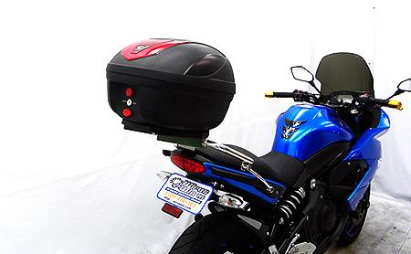 COOCASE製リアボックス付 タンデムバー ウイルズウィン(WirusWin) Ninja400R(ニンジャ)EBL-ER400B