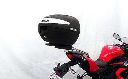 SHAD製リアボックス付 タンデムバー タンデムバー ウイルズウィン(WirusWin) Ninja250SL(ニンジャ250SL)JBK-BX250A, テニスショップアクセル:e68cb6e0 --- chrb2.ru