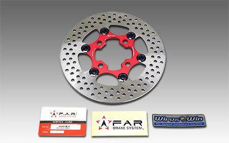 最先端 GROM(グロム)16年~(2型) FAR FAR フロントブレーキディスクローター(220mm) FAR FAR, minime:f68b7640 --- portalitab2.dominiotemporario.com