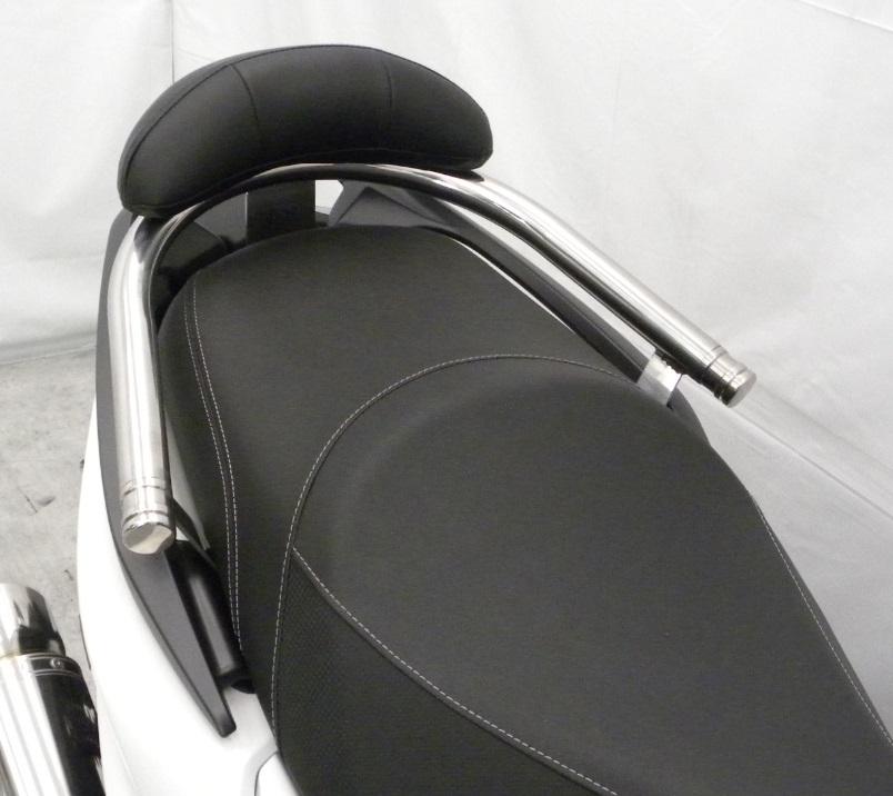KYMCO RACING S 125(16年) バックレスト付き 32φタンデムバー エレガントタイプ バックレストサイズ スモール ウイルズウィン(WirusWin)