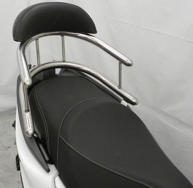 KYMCO RACING S 125(16年) バックホールドタンデムバー ブライアントタイプ バックレストサイズ ラージ ウイルズウィン(WirusWin)