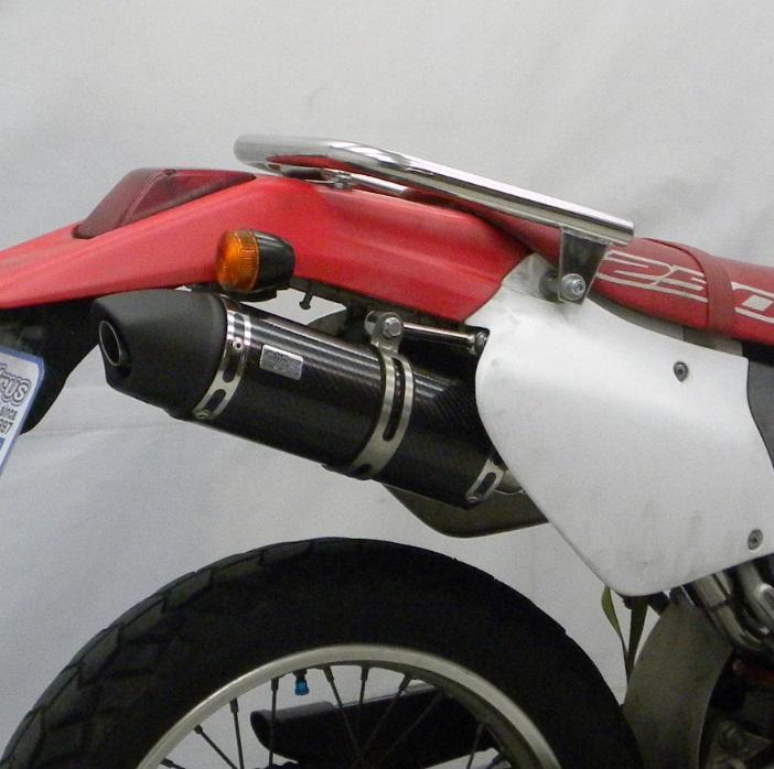 XR250(MD30) スリップオンマフラー ユーロタイプ ブラックカーボン ウイルズウィン(WirusWin)