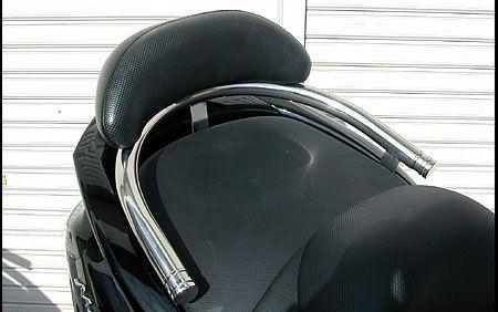 バックレスト付き32φタンデムバー エレガントタイプ  グランドマジェスティ250/400共用(~2010年式) ウイルズウィン