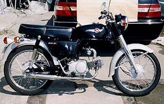 シャープマフラー ウイルズウィン(WirusWin)CD90・ベンリー90