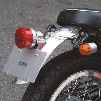 アルミリアフェンダー1 バフ仕上げ WM(ダブルエム) SR400