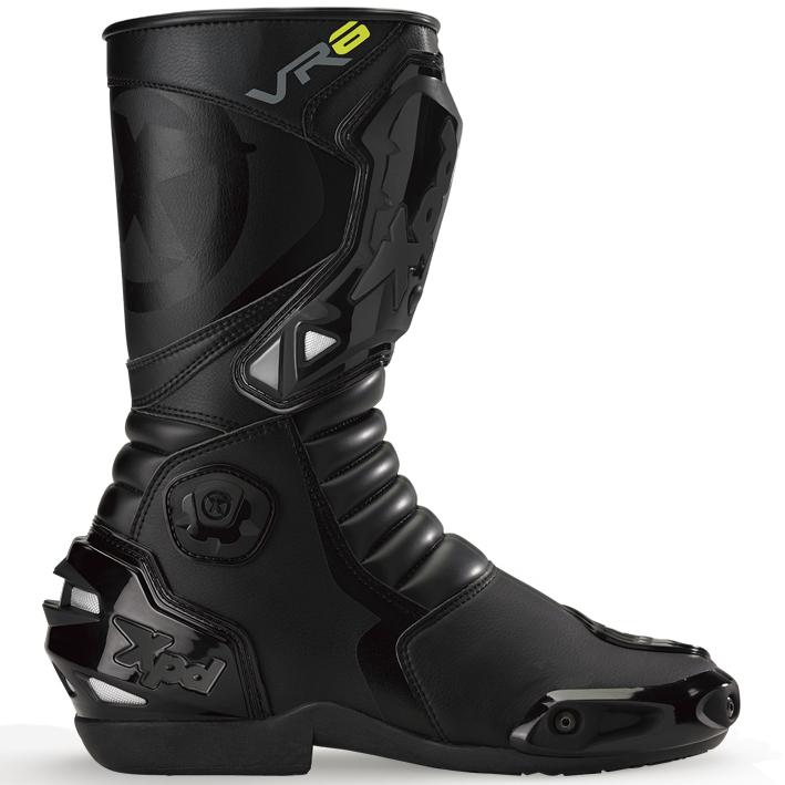 XPN020 VR-6 2 レーシングブーツ ブラック 28.5cm(45) XPD(エックスピーディー)
