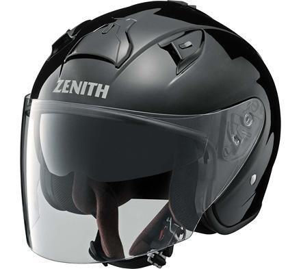 YJ-14 ZENITH(ゼニス) メタルブラック Lサイズ ジェットヘルメット YAMAHA(ヤマハ・ワイズギア)