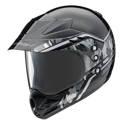 YX-3 GIBSON(ギブソン)Version-T2(セローカラー)ブラック L(59~60cm未満)オフロードヘルメット YAMAHA(ヤマハ・ワイズギア)