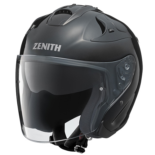 YJ-17 ZENITH-P(ゼニス-P)メタルブラック S(55~56cm)ジェットヘルメット YAMAHA(ヤマハ・ワイズギア)