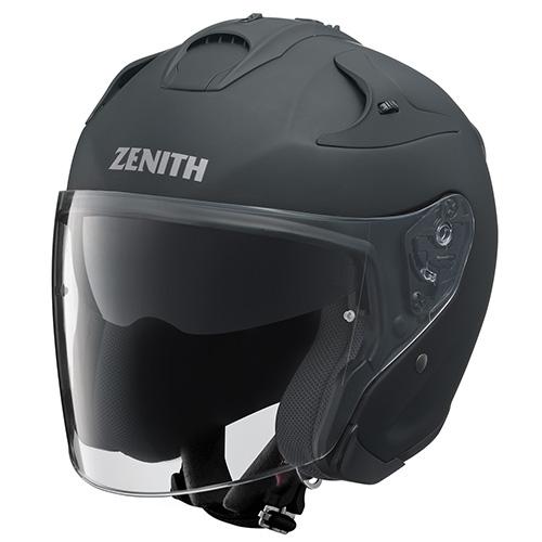 YJ-17 ZENITH-P(ゼニス-P)ラバートーンブラック L(59~60cm未満)ジェットヘルメット YAMAHA(ヤマハ・ワイズギア)