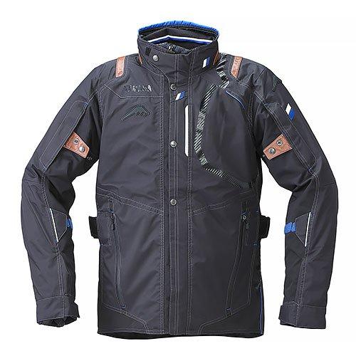 KUSHITANI(クシタニ)コラボ Motoウィンターツーリングジャケット YAF53-K ブラック Lサイズ YAMAHA(ヤマハ・ワイズギア)