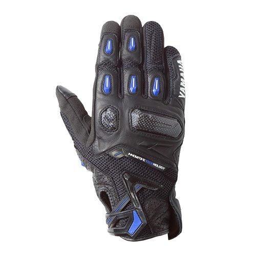 YAT42-R ラプターメッシュグローブ ブラック/ブルー Lサイズ YAMAHA(ヤマハ・ワイズギア)