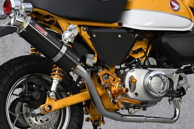 ステンレスxカーボン ダウンタイプ フルエキ マフラー YAMAMOTO RACING(ヤマモトレーシング) モンキー125(MONKEY125)