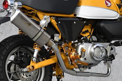 TYPE-SA ステンレスxチタン ダウンタイプ フルエキ マスラー YAMAMOTO RACING(ヤマモトレーシング) モンキー125(MONKEY125)