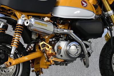ステンレスxアルミプレス アップタイプ フルエキ マスラー YAMAMOTO RACING(ヤマモトレーシング) モンキー125(MONKEY125)