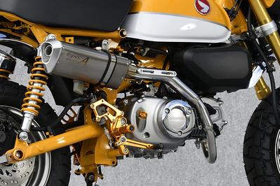 ステンレスxチタン アップタイプ フルエキ マスラー YAMAMOTO RACING(ヤマモトレーシング) モンキー125(MONKEY125)