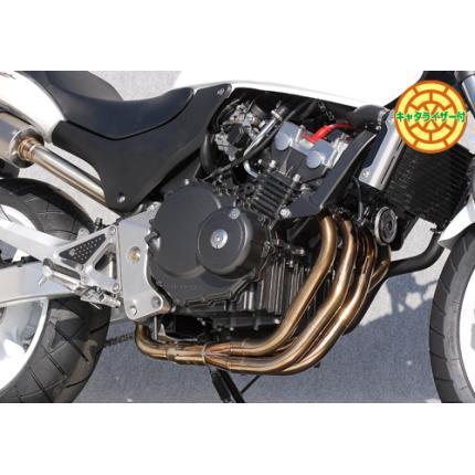 SPEC-A ステンレスマフラー4-1/エキゾーストASSY YAMAMOTO RACING(ヤマモトレーシング) ホーネット250(HORNET)