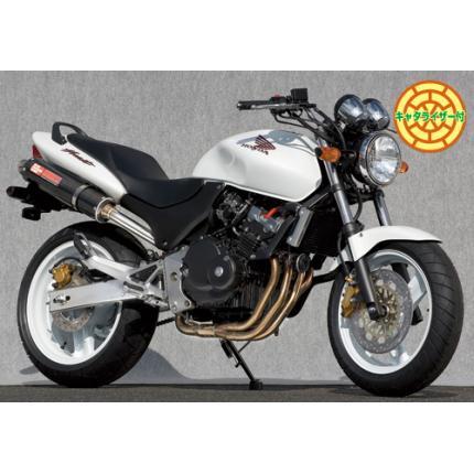 SPEC-A ステンレスマフラー4-1カーボンサイレンサー YAMAMOTO RACING(ヤマモトレーシング) ホーネット250(HORNET)
