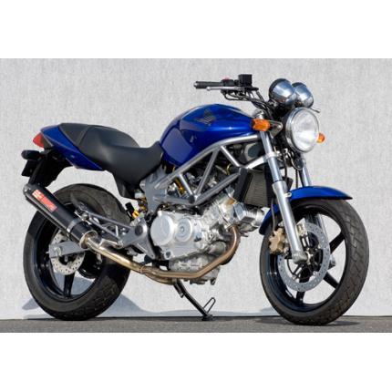 【第1位獲得!】 SPEC-A ステンレスマフラー2-1カーボンサイレンサー YAMAMOTO RACING(ヤマモトレーシング) YAMAMOTO SPEC-A VTR250(~07年), 神崎町:95a6ac30 --- clftranspo.dominiotemporario.com
