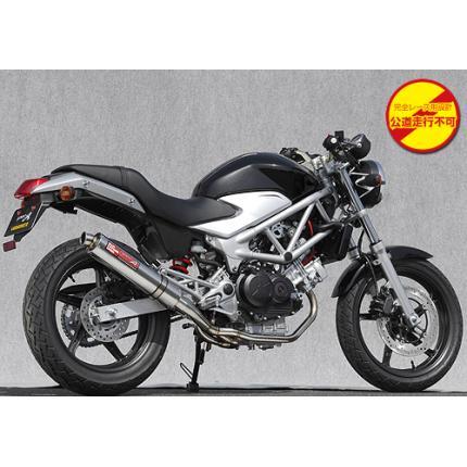 SPEC-A ステンレスマフラー2-1チタン レース専用 YAMAMOTO RACING(ヤマモトレーシング) VTR250(09年モデル~)