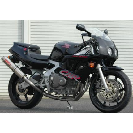 SPEC-A チタンマフラー4-1 UP-TYPE RACE YAMAMOTO RACING(ヤマモトレーシング) CBR400RR(90年~)