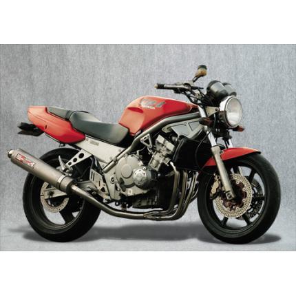 SPEC-A ステンレスマフラー4-1チタン セカンドバージョン YAMAMOTO RACING(ヤマモトレーシング) CB-1