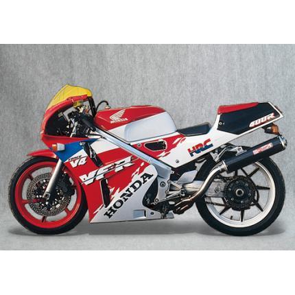 SPEC-A ステンレスマフラー4-2-1カーボンサイレンサー YAMAMOTO RACING(ヤマモトレーシング) VFR400R(NC30)
