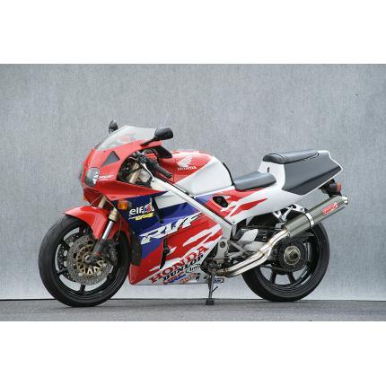 SPEC-A ステンレスマフラー4-2-1ケブラーサイレンサー YAMAMOTO RACING(ヤマモトレーシング) VFR400R(NC35)