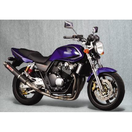 SPEC-A チタンマフラー4-1カーボンサイレンサー YAMAMOTO RACING(ヤマモトレーシング) CB400SF(99~07年)