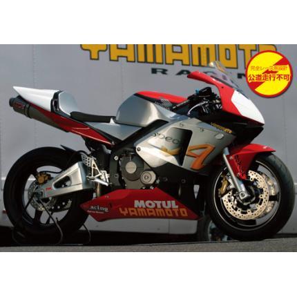 SPEC-A チタンマフラー 4-2-1チタン/レース専用 YAMAMOTO RACING(ヤマモトレーシング) CBR600RR(03~04年)