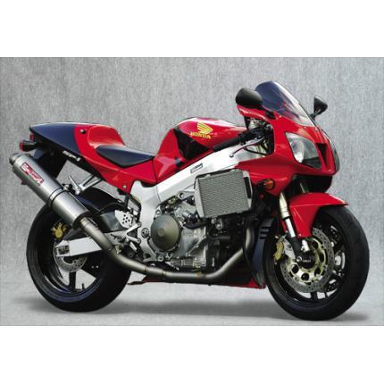 SPEC-A チタンマフラー2-1チタンサイレンサー YAMAMOTO RACING(ヤマモトレーシング) VTR1000SP-1