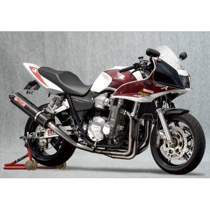 SPEC-A チタンマフラー4-1 ダウン カーボン YAMAMOTO RACING(ヤマモトレーシング) CB1300SF(03~07年)