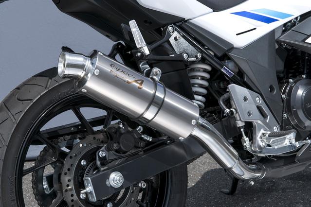 スリップオンマフラー チタン YAMAMOTO RACING(ヤマモトレーシング) GSX250R(17年)