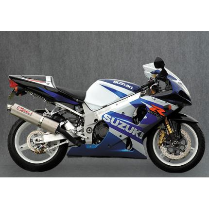 PEC-A スリップオンマフラーダウン チタンサイレンサー YAMAMOTO RACING(ヤマモトレーシング) GSX-R1000(~04年)