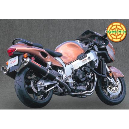 SPEC-A チタンマフラー4-2-1-2 カーボンサイレンサー YAMAMOTO RACING(ヤマモトレーシング) GSX1300R(隼)~05年