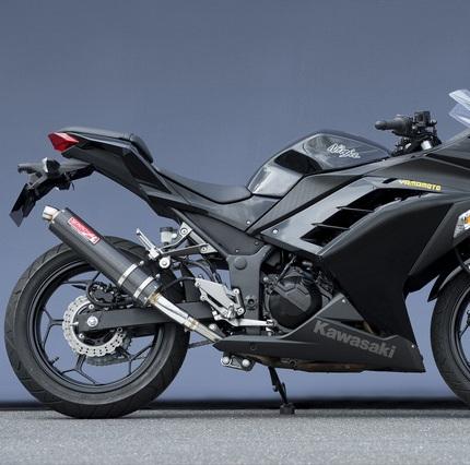 Ninja250(ニンジャ) SUSスリップオンカーボンマフラー JMCA認定 YAMAMOTO(ヤマモトレーシング)