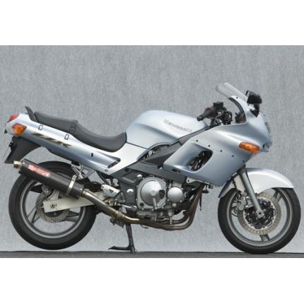 SPEC-A スリップオンマフラーカーボンサイレンサー(触媒付き) YAMAMOTO RACING(ヤマモトレーシング) ZZR400(N型のみ適合)