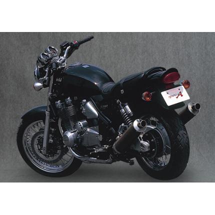 SPEC-A スリップオンマフラー カーボンサイレンサー YAMAMOTO RACING(ヤマモトレーシング) ゼファー1100(ZEPHYR)~99年