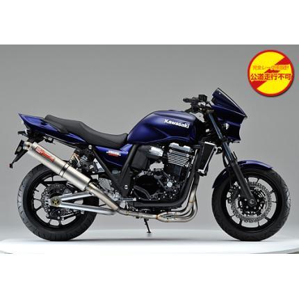 SPEC-A チタンマフラー4-2-1 チタン レース専用 YAMAMOTO RACING(ヤマモトレーシング) ZRX1200 DAEG(ダエグ)09年
