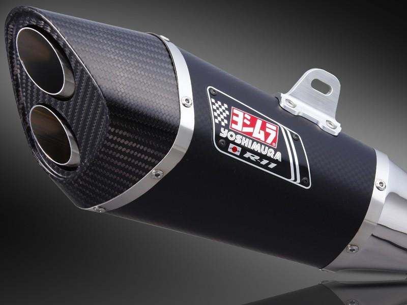 BMW S1000RR(10~12年) スリップオンマフラー R-11サイクロン 2エンド EXPORT SPEC SM (メタルマジックカバー) YOSHIMURA(ヨシムラ)