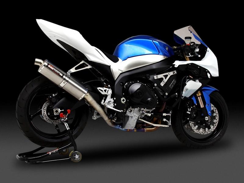 GSX-R1000(09~11年) Tri-Ovalレーシングチタンサイクロン 4-2-1TYPE TT (チタンカバー) フルエキゾーストマフラー YOSHIMURA(ヨシムラ)